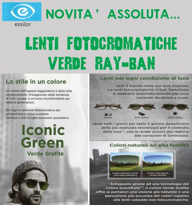 Cartello-fotocromatiche-Verde-Ray-ban